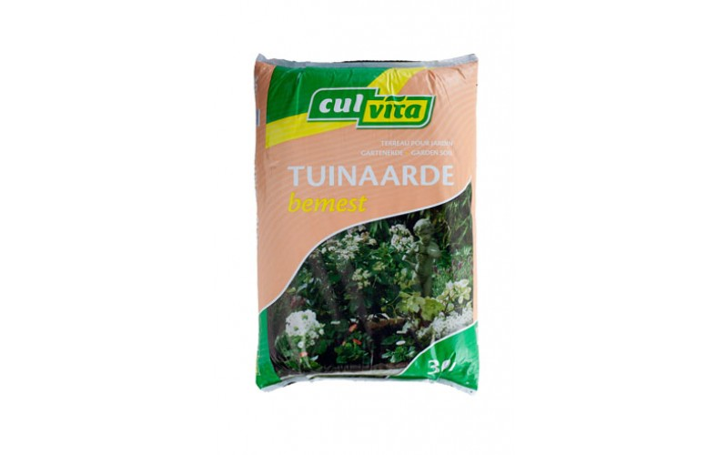 Tuinaarde bemest 30l